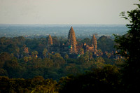 Sunset at Angkor Wat from Phnom Bakheng