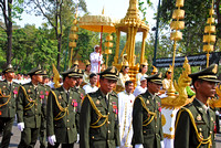 Army in Procession