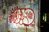 Graffiti in one of Kep's Villas