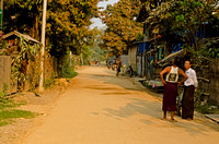 Side street in Khamti