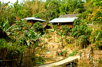 Naga homes outside Khamti