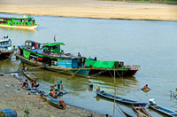 River life on the Chindwin