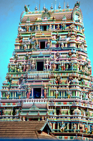 Allepy temple South India
