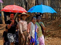 Karen people in Funeral