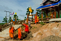 Monks Working