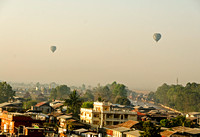 Balloons over Inle Lake