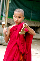 Young Monk in Hsipaw